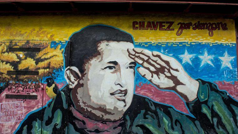 """""""Maduro no es Chávez"""", suelen decir los chavistas. (Foto Prensa Libre: AFP)."""
