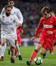 Dani Carvajal es determinante para Zinedine Zidane en la defensa del Real Madrid. Ayer, estuvo presente en el juego contra la Real Sociedad. (Foto Prensa Libre: EFE)