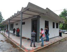 Instalaciones del centro de detención en Mariscal Zavala, el cual cuenta con espacios al aire libre. (Foto Prensa Libre: Hemeroteca PL)