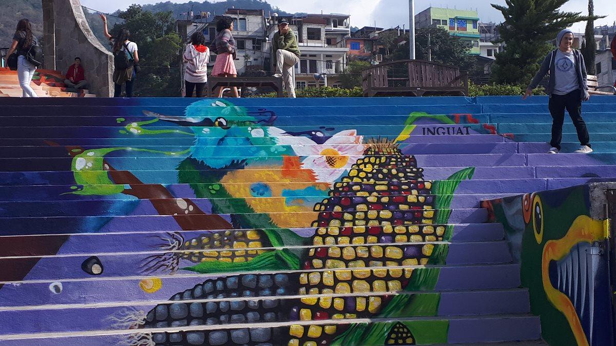 Los artistas cuidaron cada detalle en la creación de sus obras. (Foto Prensa Libre: Cortesía Inguat)