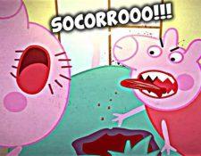 """Peppa la cerdita"" se transforma en ""Pepa la cerda"" en algunos videos, protagonizando escenas obscenas y usando lenguaje soez. (Foto YouTube)"