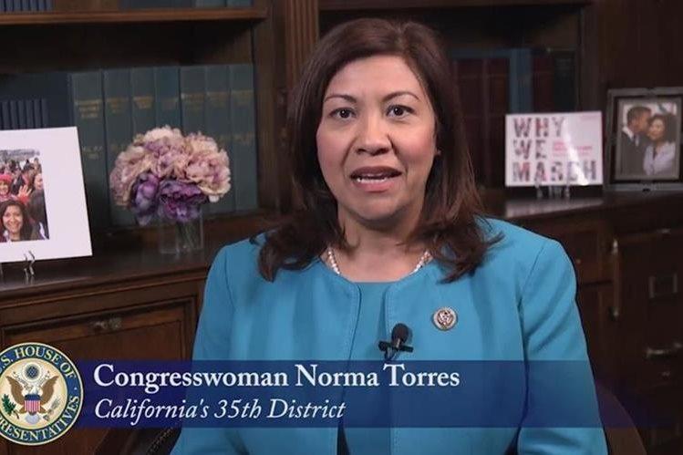 La congresista Norma Torres ha destacado la labor de Iván Velásquez al frente de la Cicig. (Foto: Twitter)
