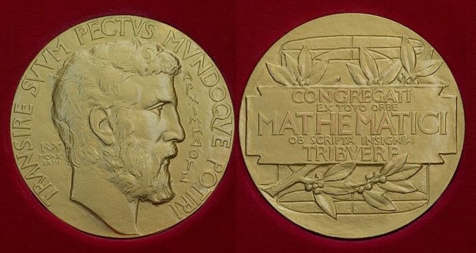 La medalla tiene la cara de Arquímedes en uno de los lados. (Foto: IMU)