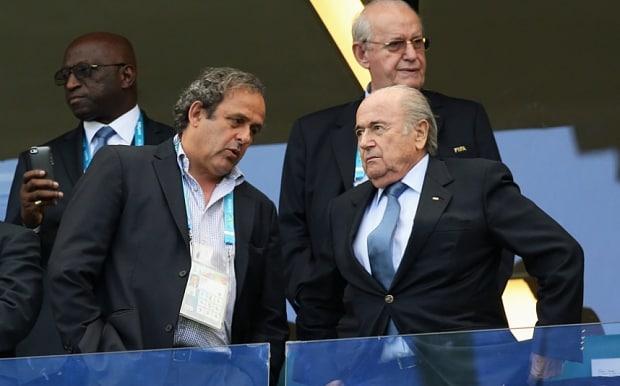 """Platini tiene que volver a la UEFA o a la FIFA"", afirma Blatter"