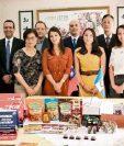 Representantes de empresas que asistirán a la feria internacional Food Taipei 2016, en Taiwán. (Foto Prensa Libre: Cortesía)