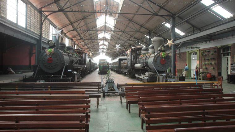El Museo del Ferrocarril está en la 9a. Av. 18-03, zona 1. Abre de martes a domingo de 9 a 16 horas. Admisión, Q2. (Foto Prensa Libre: Ángel Elías).