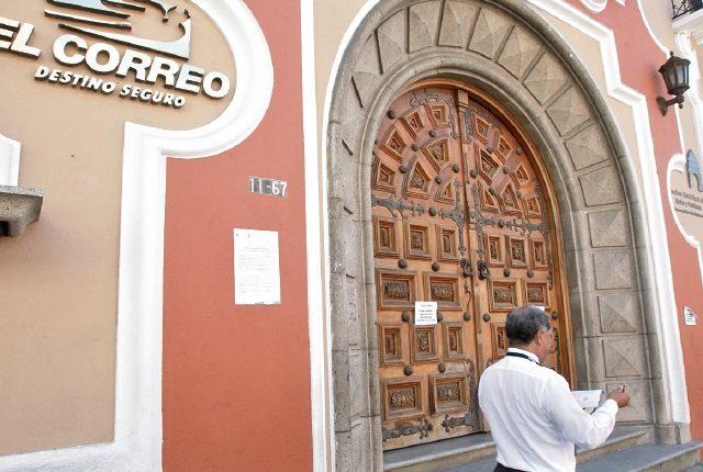 Por cinco días consecutivos no se ha prestado el servicio de El Correo, que hasta la semana pasada manejaba la empresa privada CDG, S. A.