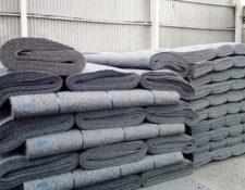 Modelo de la materia prima que fabrica la Megapaca para vender a la industria de camas en el país. (Foto Prensa Libre: Cortesía)