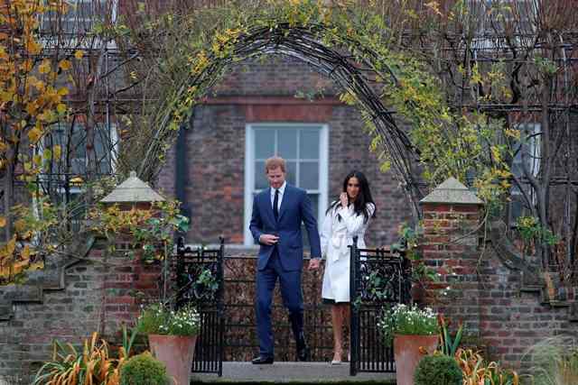 El Príncipe Enrique y Meghan Markle contraerán matrimonio el próximo 19 de mayo.(Foto Prensa Libre: AFP)