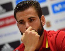 Nacho Fernández se siente feliz de jugar con la selección española. (Foto Prensa Libre: AFP)