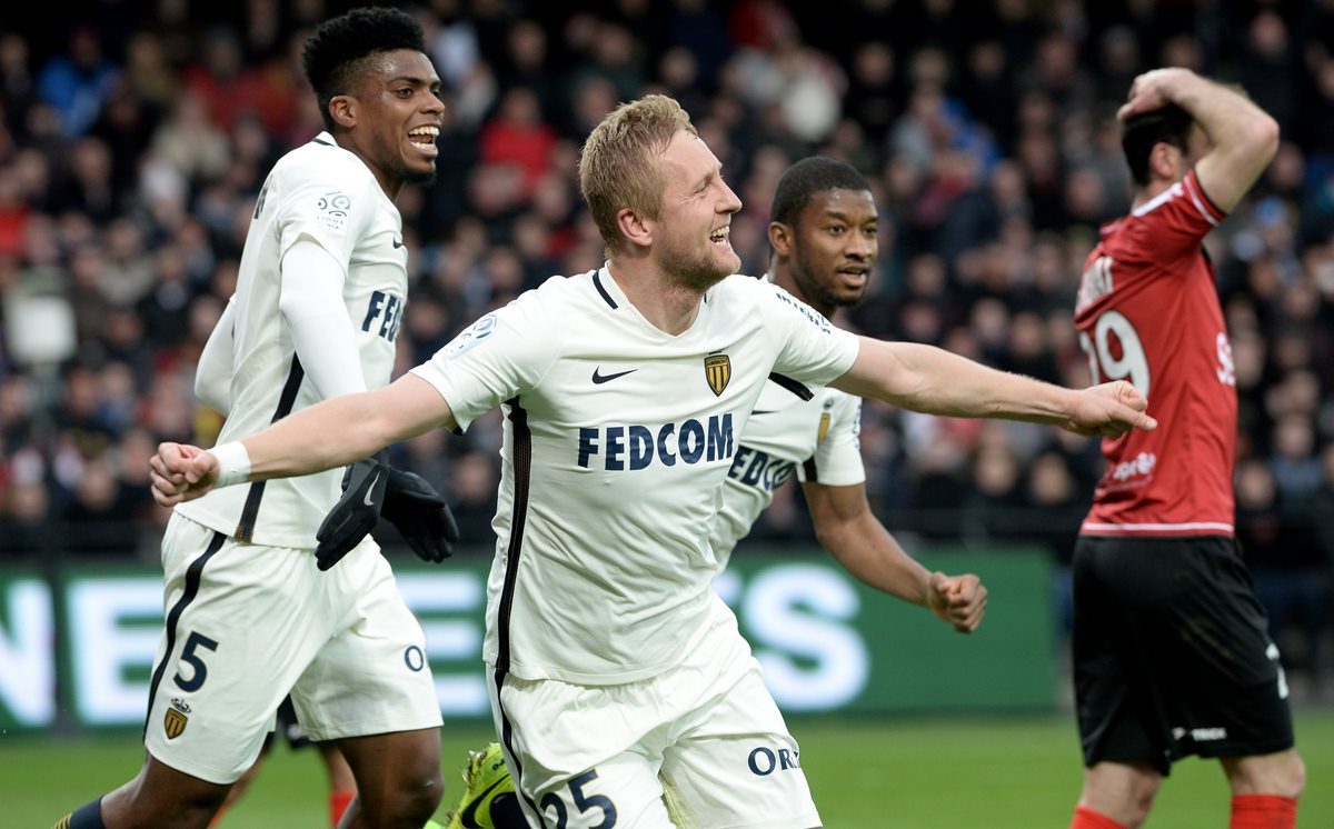 Sin resaca de Champions, Mónaco gana en liga francesa
