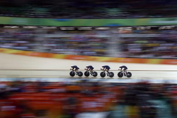 Oro, récord mundial… Gran Bretaña infunde terror en la pista