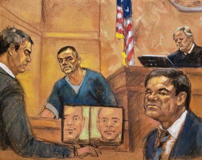 En el juicio contra el Chapo han declarado testigos peligrosos y sanguinarios, que podrían ser premiados por sus testimonios. (Foto Prensa Libre: EFE)