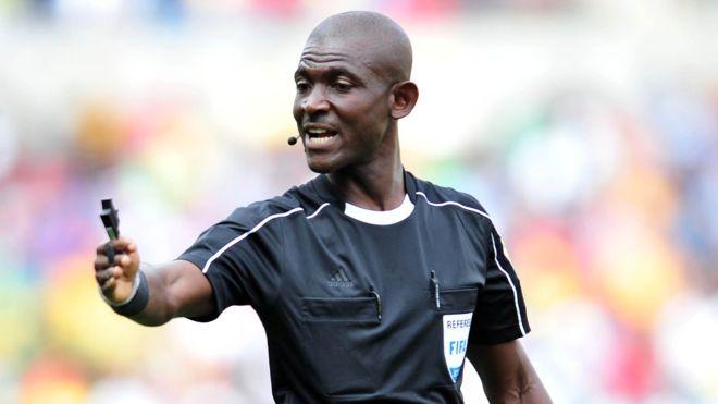 El arbitro ghanés Lamptey fue inhabilitado de por vida por la FIFA, pero podrá apelar la decisión ante el Tribunal de Arbitraje Deportivo. (BACKPAGEPIX)