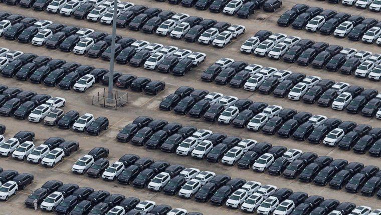 Vista general de la fábrica de GAC Fiat en Changsha, China, mayo de 2018. Las compañías automovilísticas registraban fuertes subidas en las bolsas europeas tras el anuncio de China de que reducirá los aranceles a la importación de vehículos extranjeros. (Foto Prensa Libre:EFE)