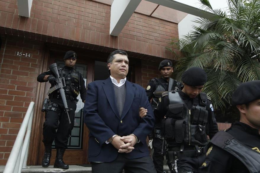Gustavo Martínez, yerno de Pérez Molina, seguirá preso