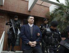 Martíez es señalado de tráfico de influencias y no logró recurperar salir de la cárcel. (Foto Prensa Libre: HemerotecaPL)