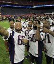 Los Patriots de Nueva Inglaterra dominan las apuestas para ganar el Super Bowl 51 contra los Falcons. (Foto Prensa Libre: AP).