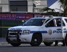 La acción inmediata de las fuerzas policiales en la matanza de Las Vegas ha sido elogiada. (Foto Prensa Libre: AFP)
