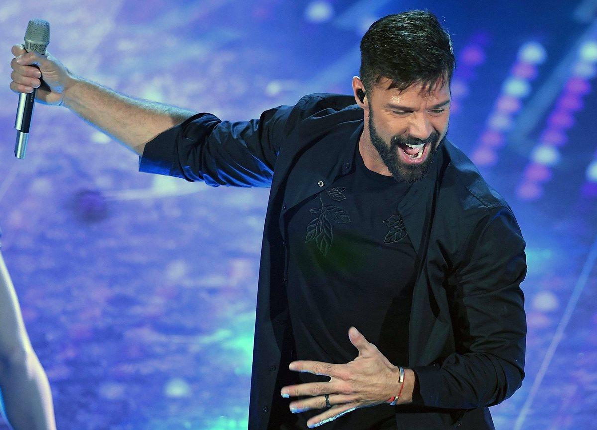 Tiziano Ferro, Ricky Martin y Al Bano abren el Festival de San Remo
