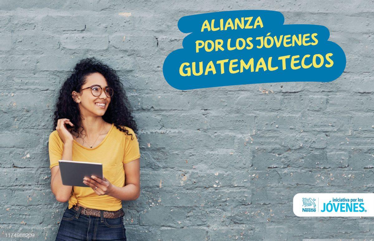 Nestlé impulsa la Alianza por los Jóvenes Guatemaltecos