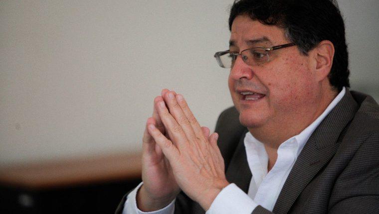 José Andrés Botrán Briz durante una reunión con gobernadores en junio pasado. (Foto Prensa Libre: Sesan).