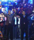Jimmy Morales obtuvo una contundente victoria con casi 70 por ciento de los votos. (Foto Prensa Libre: Esbin García)