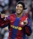 """Ronaldinho formará parte de un proyecto del barcelona llamado """"Legends"""". (Foto Prensa Libre: AP)"""