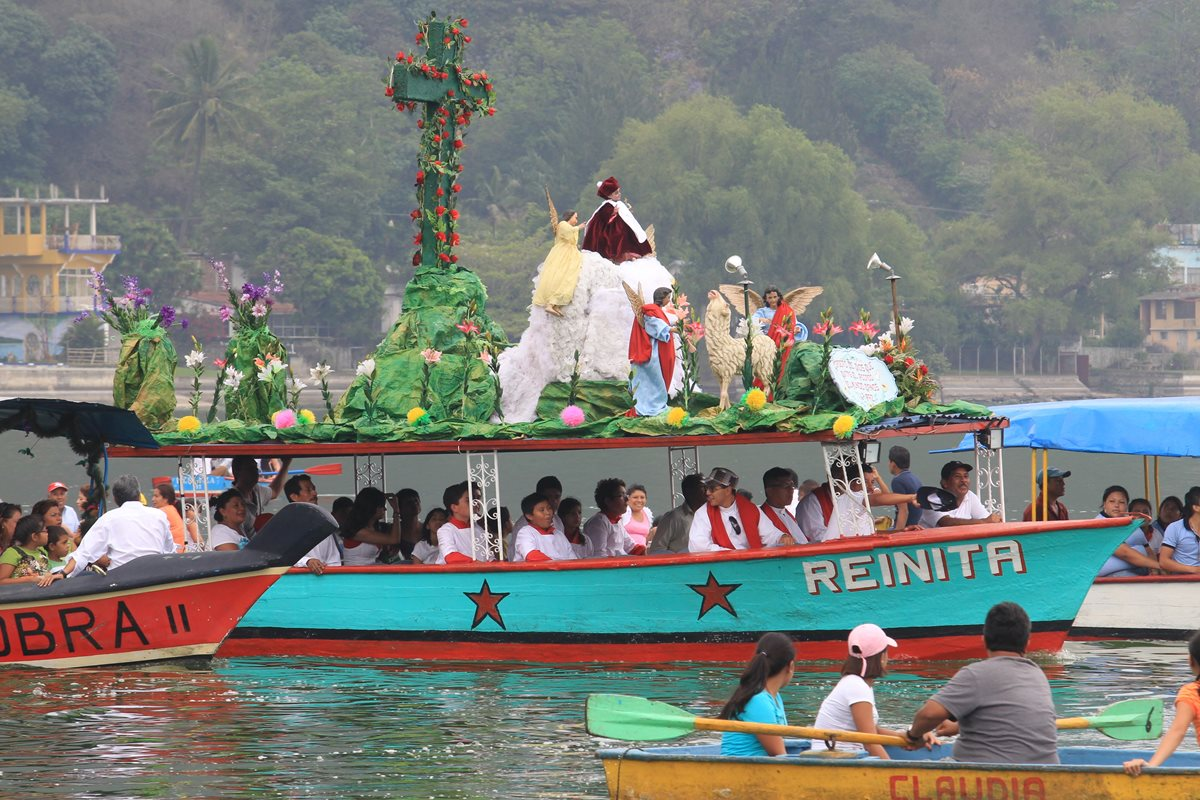 Image result for procesion acuatica de amatitlan