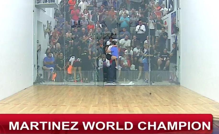 Ana Gabriela Martínez es la nueva campeona mundial de raquetbol femenino