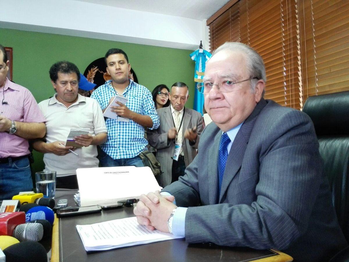 """Molina Barreto: """"Estaba en riesgo la institucionalidad del país"""""""