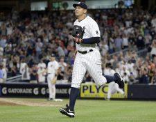 Alex Rodriguez disputó su último partido con los Yankees de Nueva York el pasado 13 de agosto. (Foto Prensa Libre:EFE)