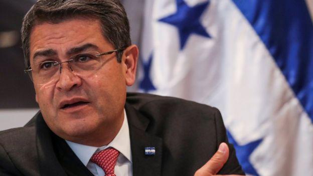 Juan Orlando Hernández está buscando la reelección y su principal bandera de campaña son las ZEDE. REUTERS