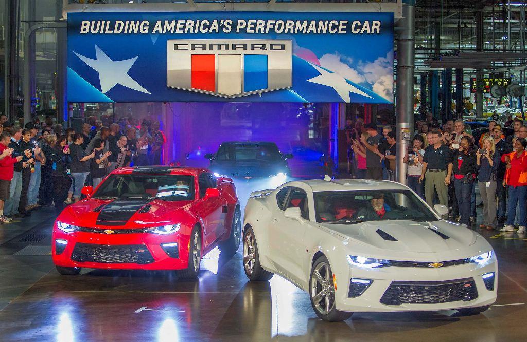 Chevrolet Camaro vuelve a ser ensamblado en EE.UU.
