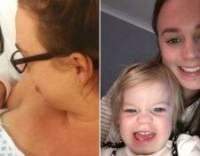 Anna Simpson esperaba tener un parto tranquilo, pero nunca imaginó que se convertiría en una experiencia terrible. ANNA SIMPSON