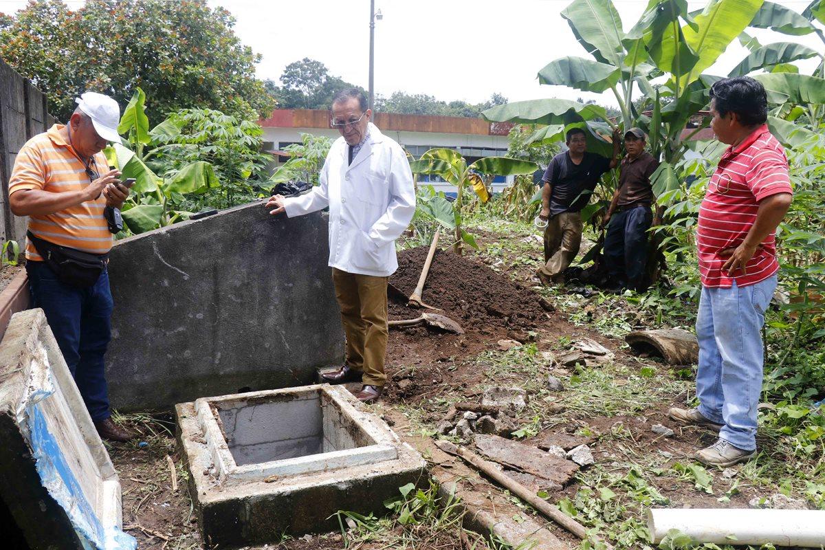Sabotean sistema de agua en Hospital Nacional de Retalhuleu
