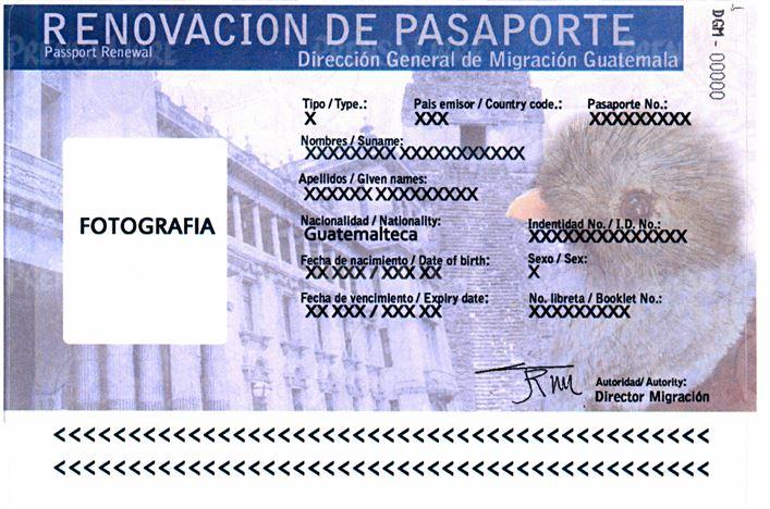 Calcomanía validará por un año los pasaportes vencidos