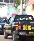 Agentes capturaron al supuesto violador en serie en San José Pinula. (Foto Prensa Libre: PNC)