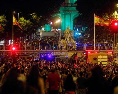 Miles de personas toman el centro de Madrid para festejar la Duodécima