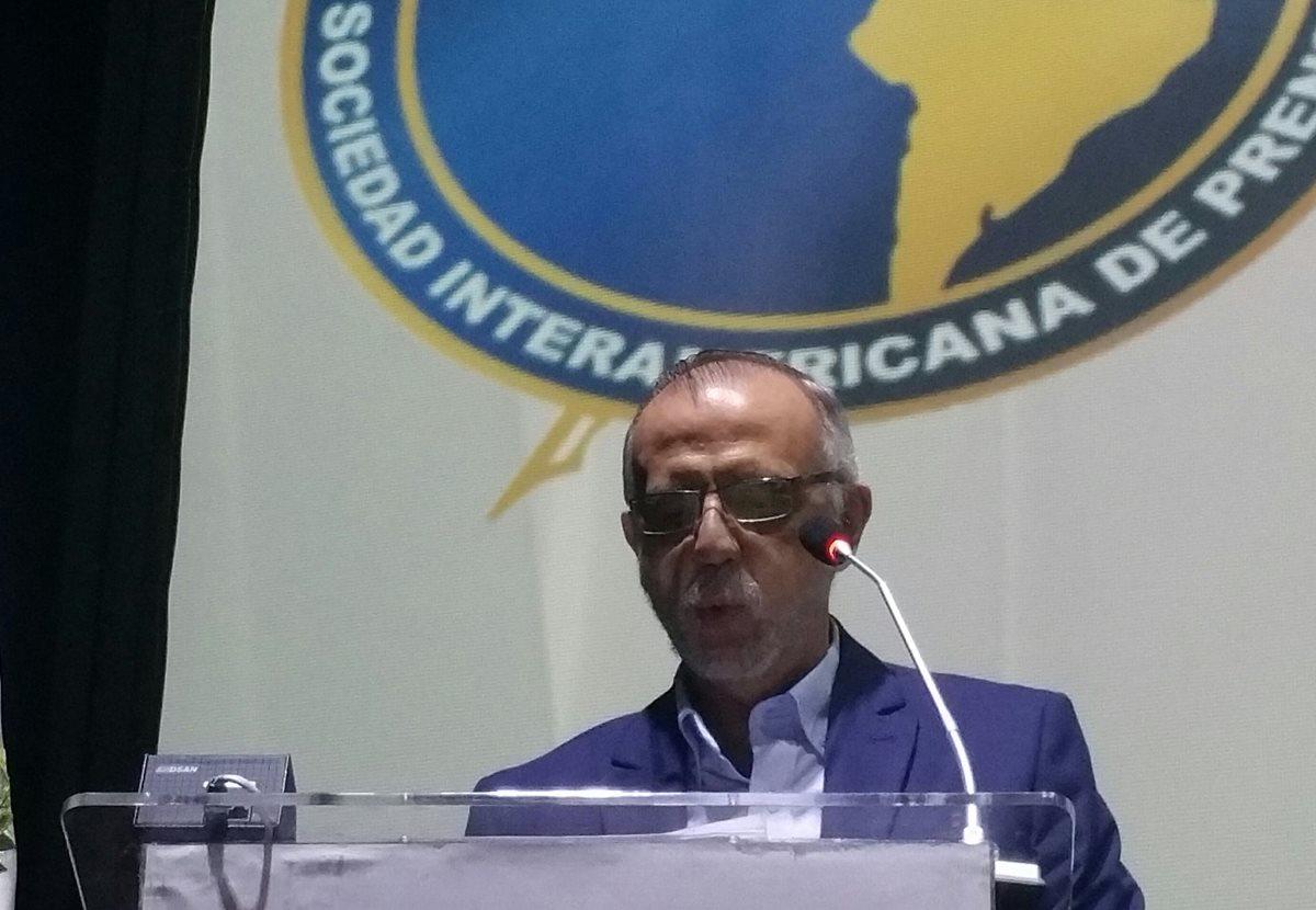Iván Velásquez llama a ciudadanos y Prensa a luchar contra gigante herido de la corrupción