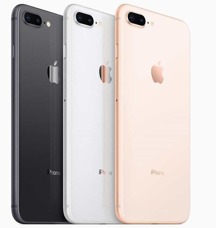 El iPhone 8 está disponible en varios colores. (Foto: Apple)