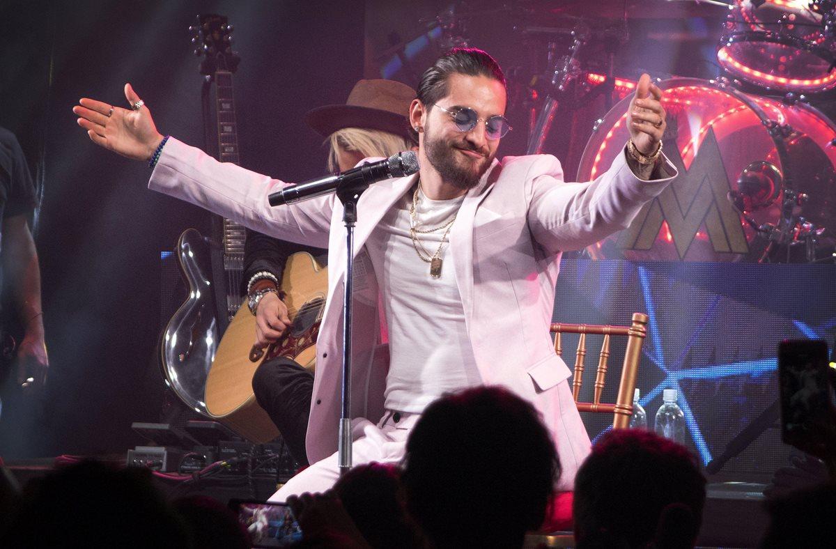 Maluma será la voz representante de Latinoamérica en Rusia 2018. (Foto Prensa Libre: EFE)