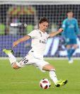 Luka Modric, en el Mundial de Clubes en Emiratos Árabes Unidos. (Foto Prensa Libre: AFP)