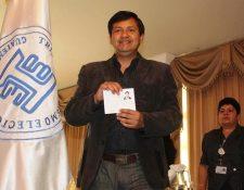 El Alcalde Selvin Villatoro logró su reelección en Aguacatán, Huehuetenango, con el partido Líder. (Foto Prensa Libre: Hemeroteca PL)