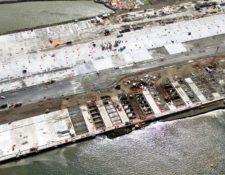La terminal de Contenedores Quetzal finalizará los trabajos de construcción en la última semana de febrero.