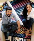 Juan Augusto López y Ana Sophia Reyes crearon la empresa de alfombras Achiote Emprendimiento. (Foto Prensa Libre: Álvaro Interiano)