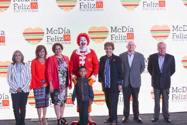 De nuevo el McDía Feliz