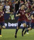 Jordan Morris hizo vibrar el Levis Stadium con un gol a falta de dos minutos para el pitazo final. (Foto Prensa Libre: AP)