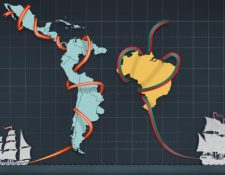 La América española se dividió en 19 Estados mientras que la portuguesa solo en uno, Brasil. (BBC)