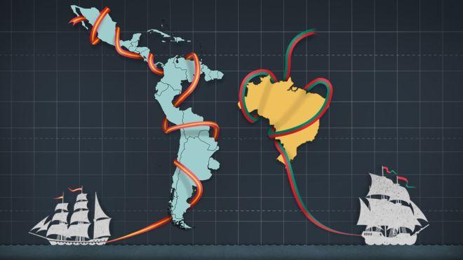 Por qué la América española se dividió en muchos países mientras que Brasil quedó en un solo país